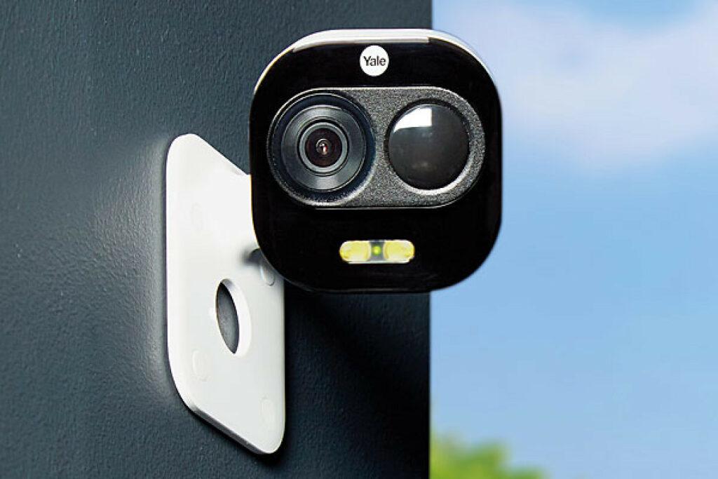 Sicherheitskamera für den Parkplatz