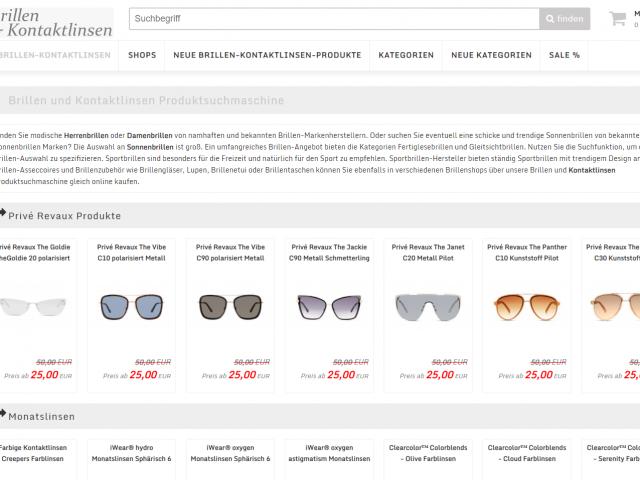 Sale Angebote Brillen & Linsen Produktsuche